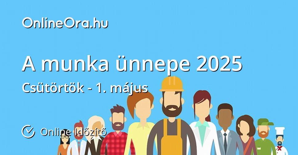 A munka ünnepe 2025